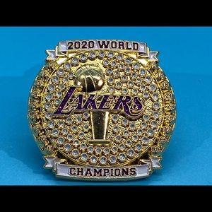 Lakers 2020 champion pin